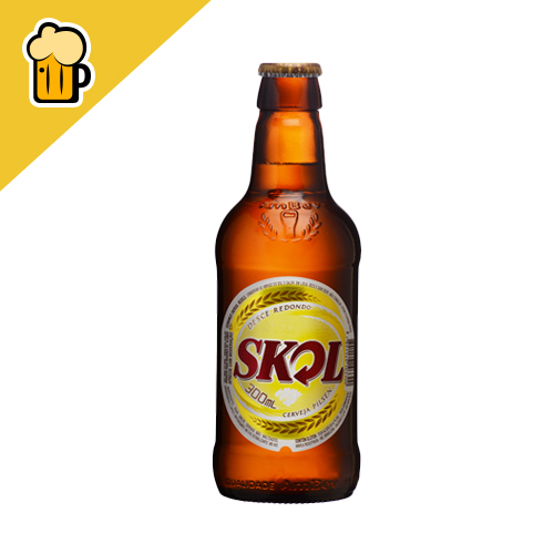 SKOL 300ML RETORNAVEL